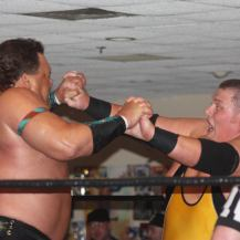 "Tatanka says ""hey-how-are-ya"" to Milonas"