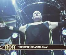 Milonas goes national for ROH!