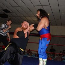 Eugene putting The Kingpin in his place as Crockett cheers him on
