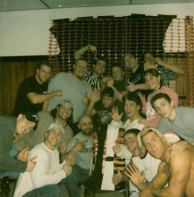 Old school Chaotic photo, Brian & Mike on upper left