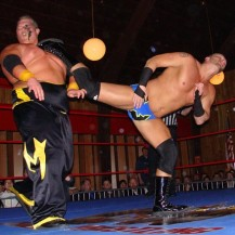 New co-host Brian Fury puts one in Milonas' mush